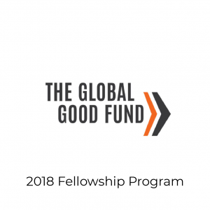 The Global Good Fund logo- 2018 Fellowship Program