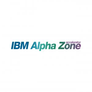 IBM Alpha Zone logo