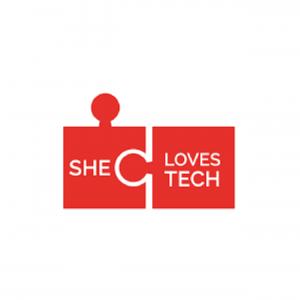 She Loves Tech logo