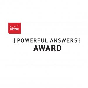 verizon Powerful Answers Award logo