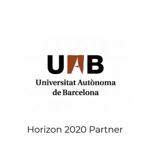 Universitat Autonoma de Barcelona logo- Horizon 2020 Partner